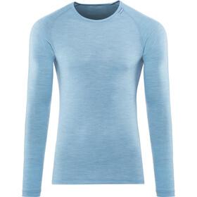 Woolpower Lite T-shirt manches longues à col ras-du-cou, nordic blue